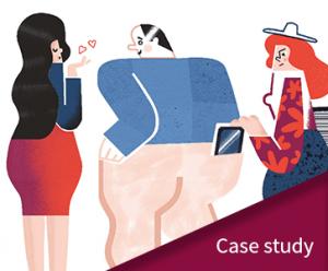 Jak zabezpieczać urządzenia mobilne case study